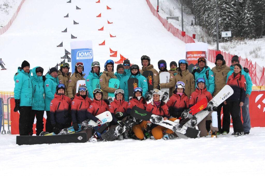 Сборная России по сноуборду