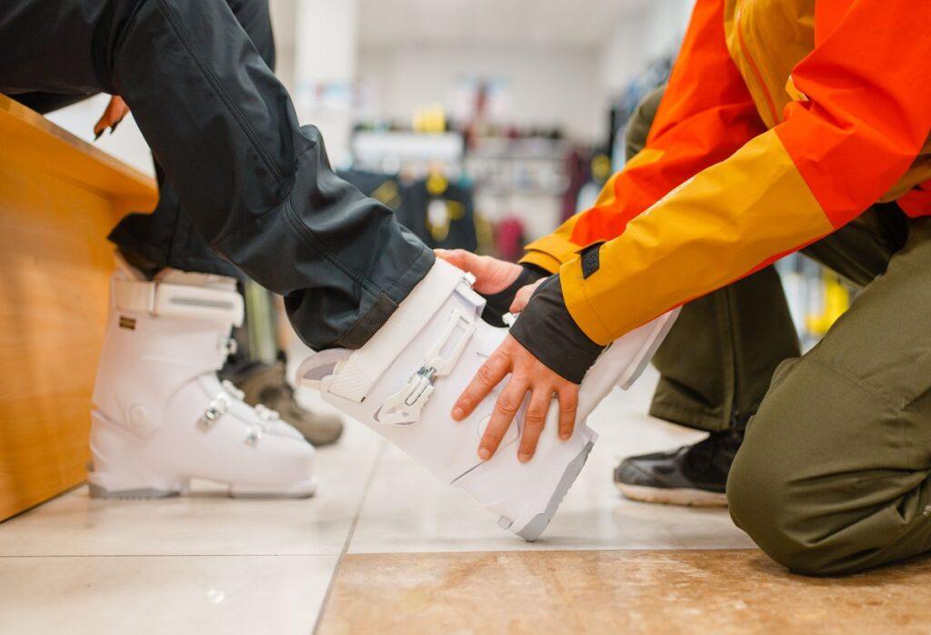 сноуборд - как подобрать ботинки