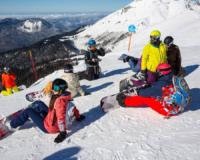 обучение сноуборд