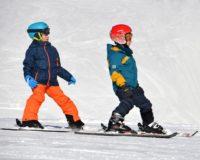 обучение детей горные лыжи