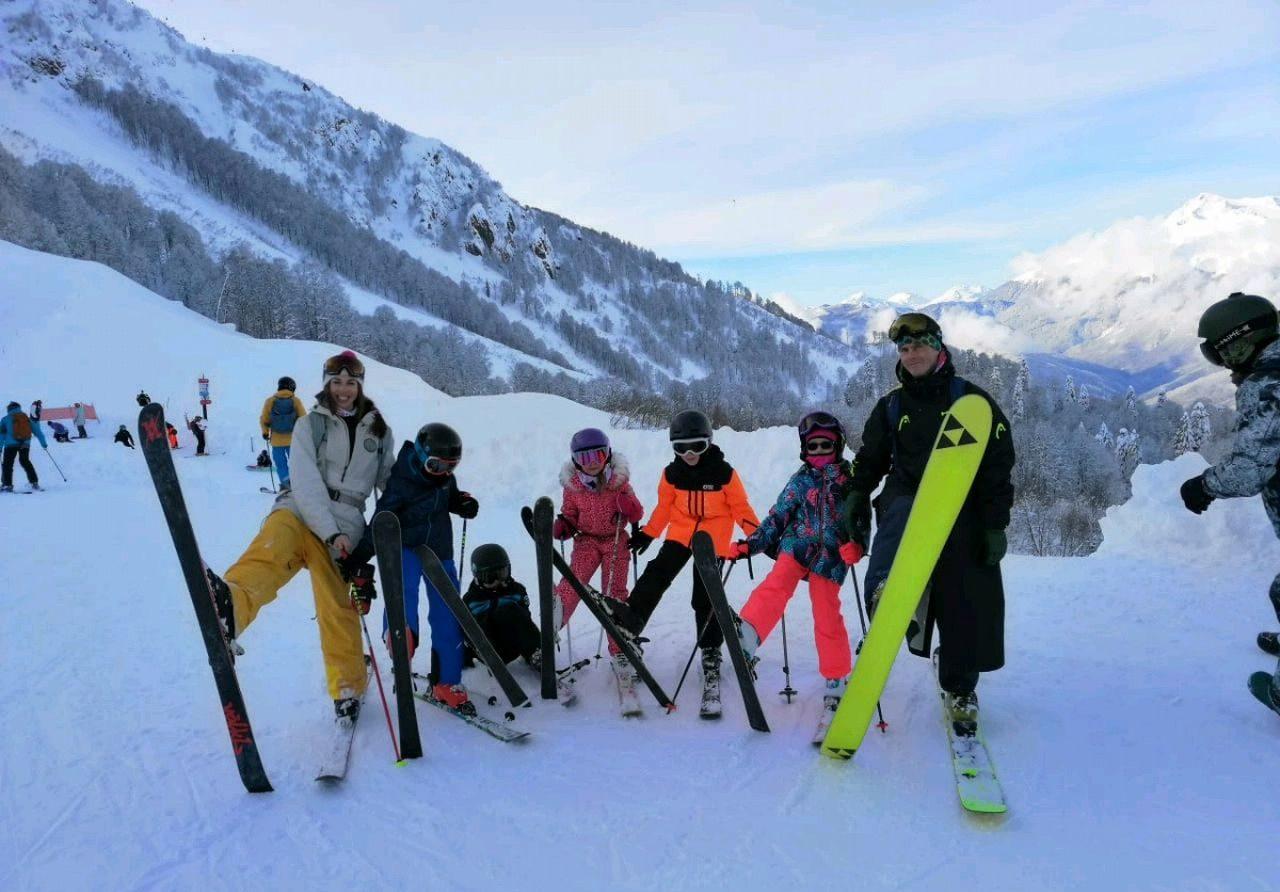 Прокат горных лыж и сноуборда Сочи