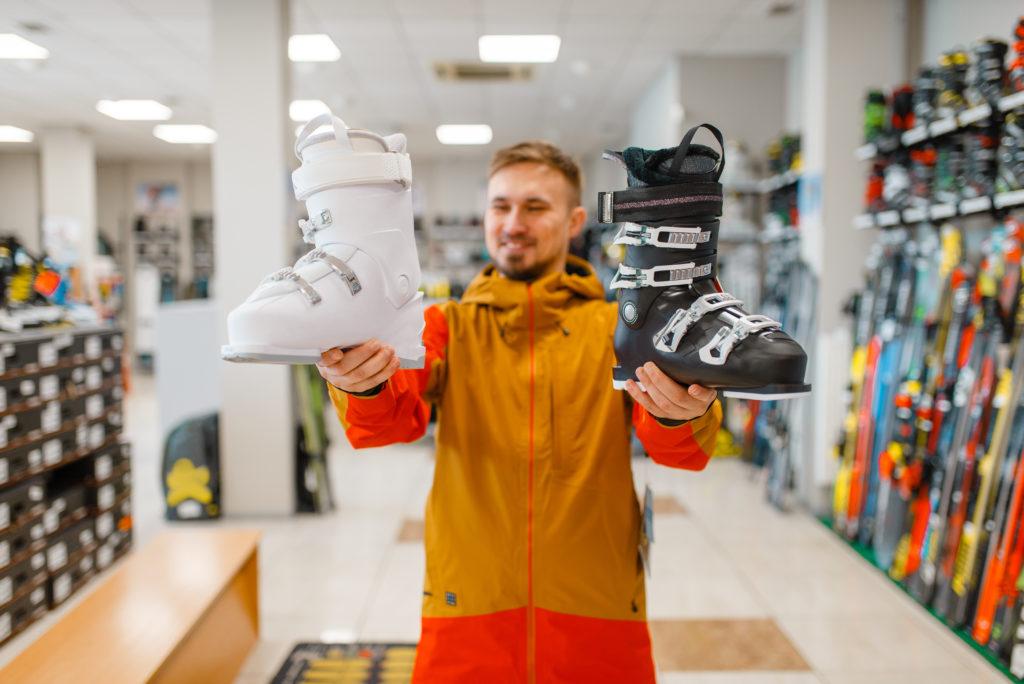 купить горнолыжные ботинки