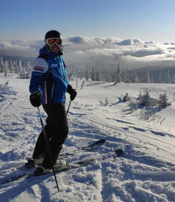 обучение горным лыжам Шерегеш