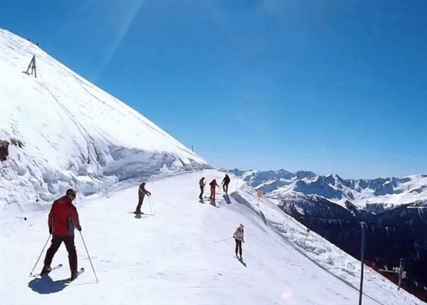 обучение горным лыжам Сочи