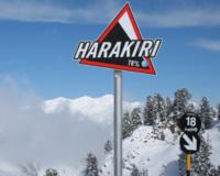 Горнолыжная трасса Харакири