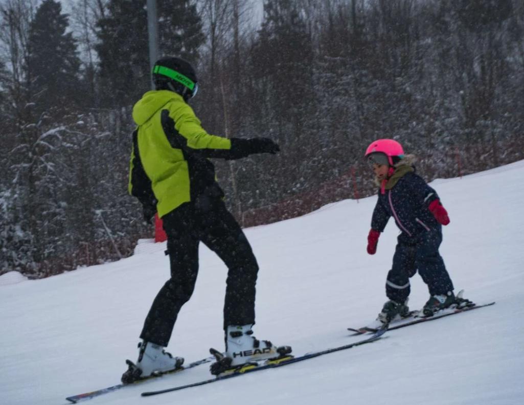 обучение горные лыжи дети