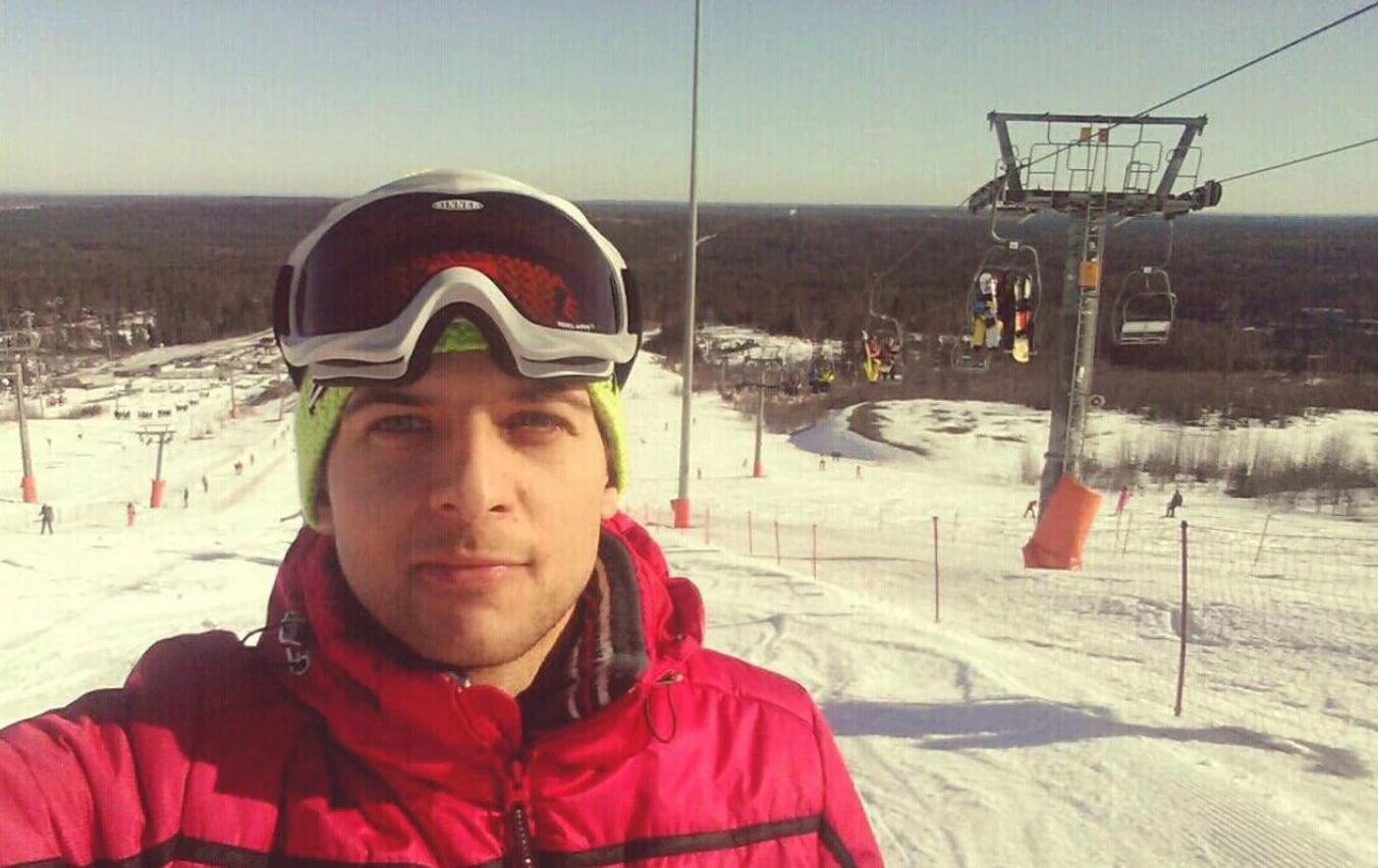 Инструктор горные лыжи