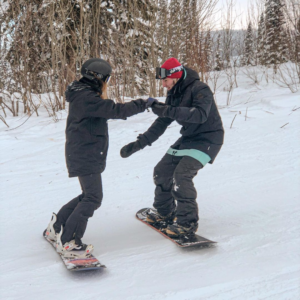 Обучение сноуборд Шерегеш