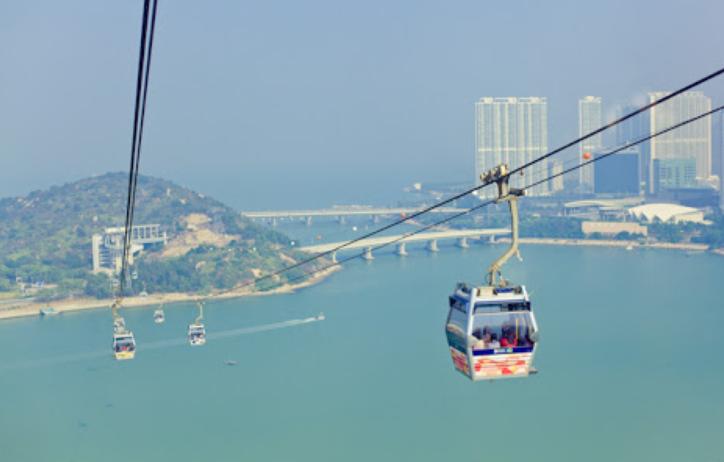 канатная дорога Гонконг, Лантау